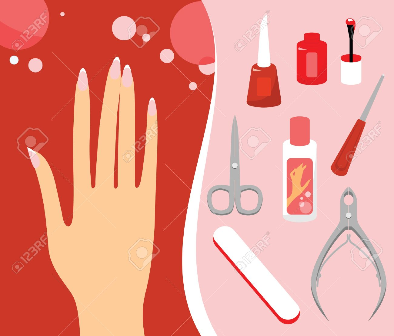 Clip Art - manicure, varnish,