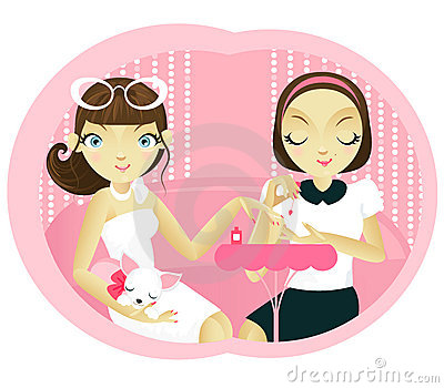 Manicure Stock Illustrations  - Manicure Clip Art