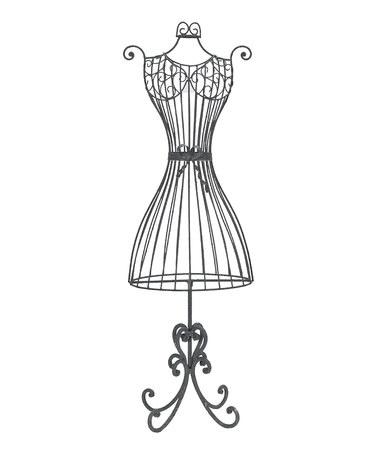 Mannequin Dress Form Clip Art