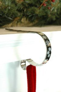 mantle clips / stocking holders   Ho Ho Ho   Pinterest   Stockings, Mantles and Christmas stockings