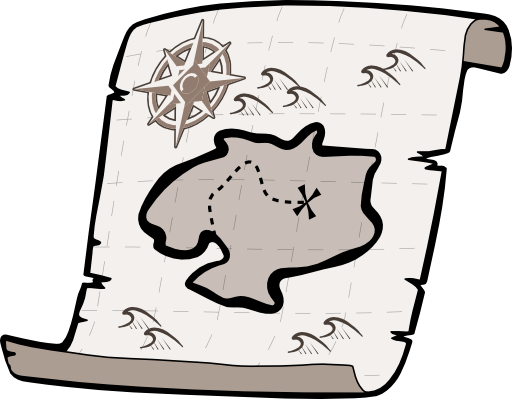 Map clipart free clip art images image 9