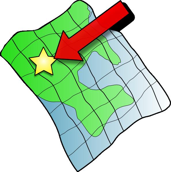 Ruffled Map Clip Art at Clker clipartlook.com - vector clip art online, royalty free u0026  public domain