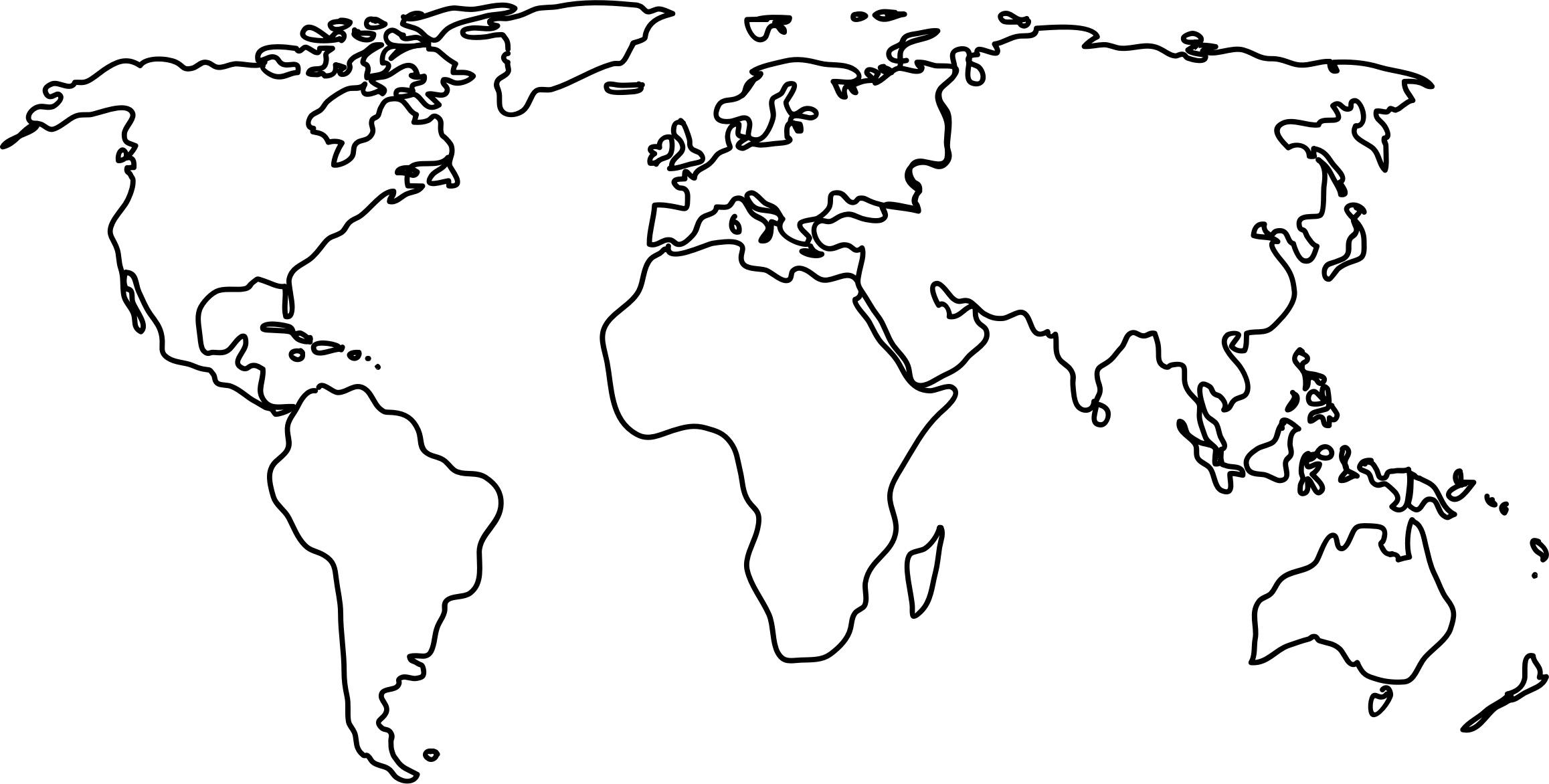 World Map Clipart World Map Clipart