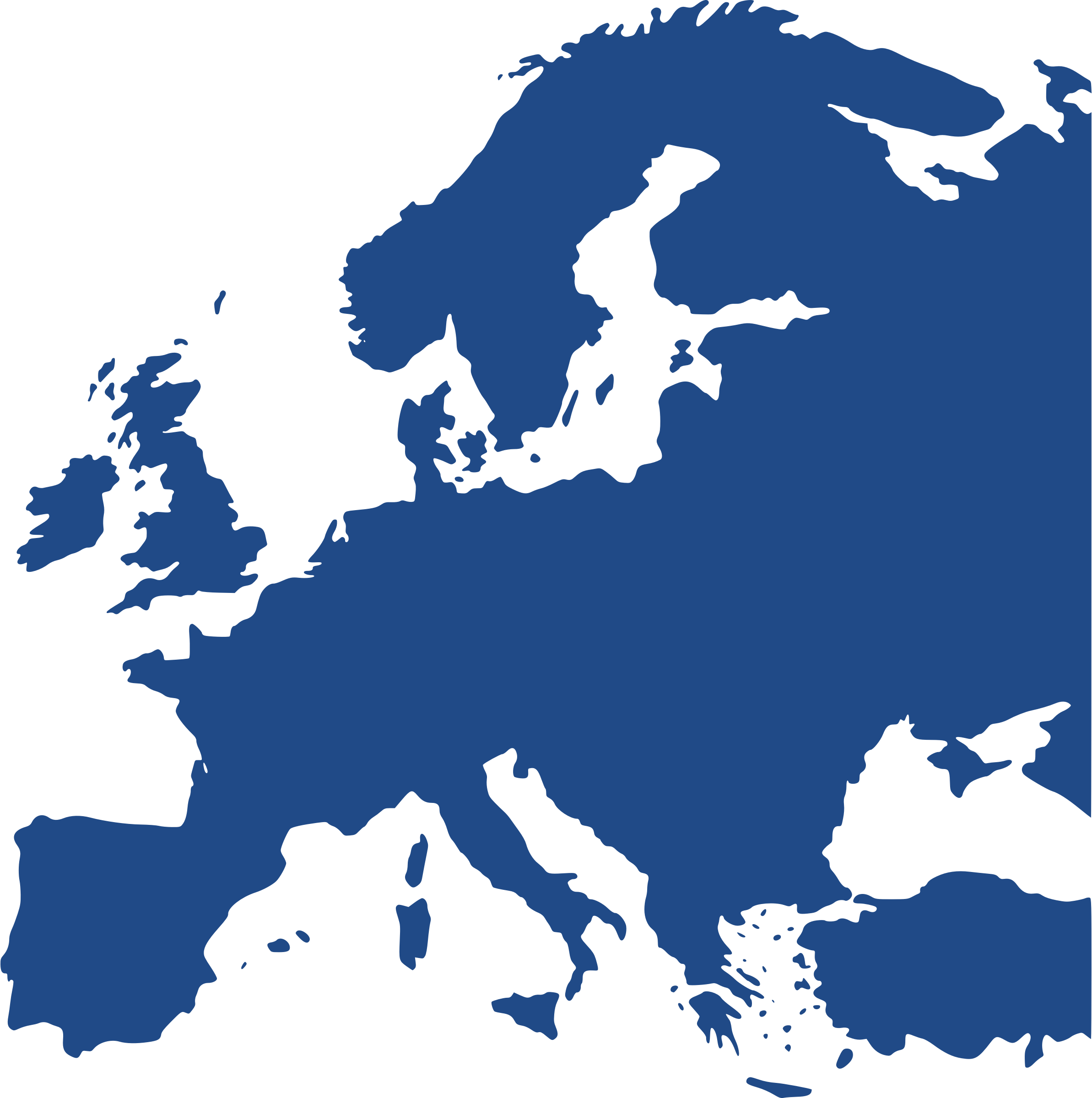 Map Of Europe Equidistant-Map Of Europe Equidistant-2