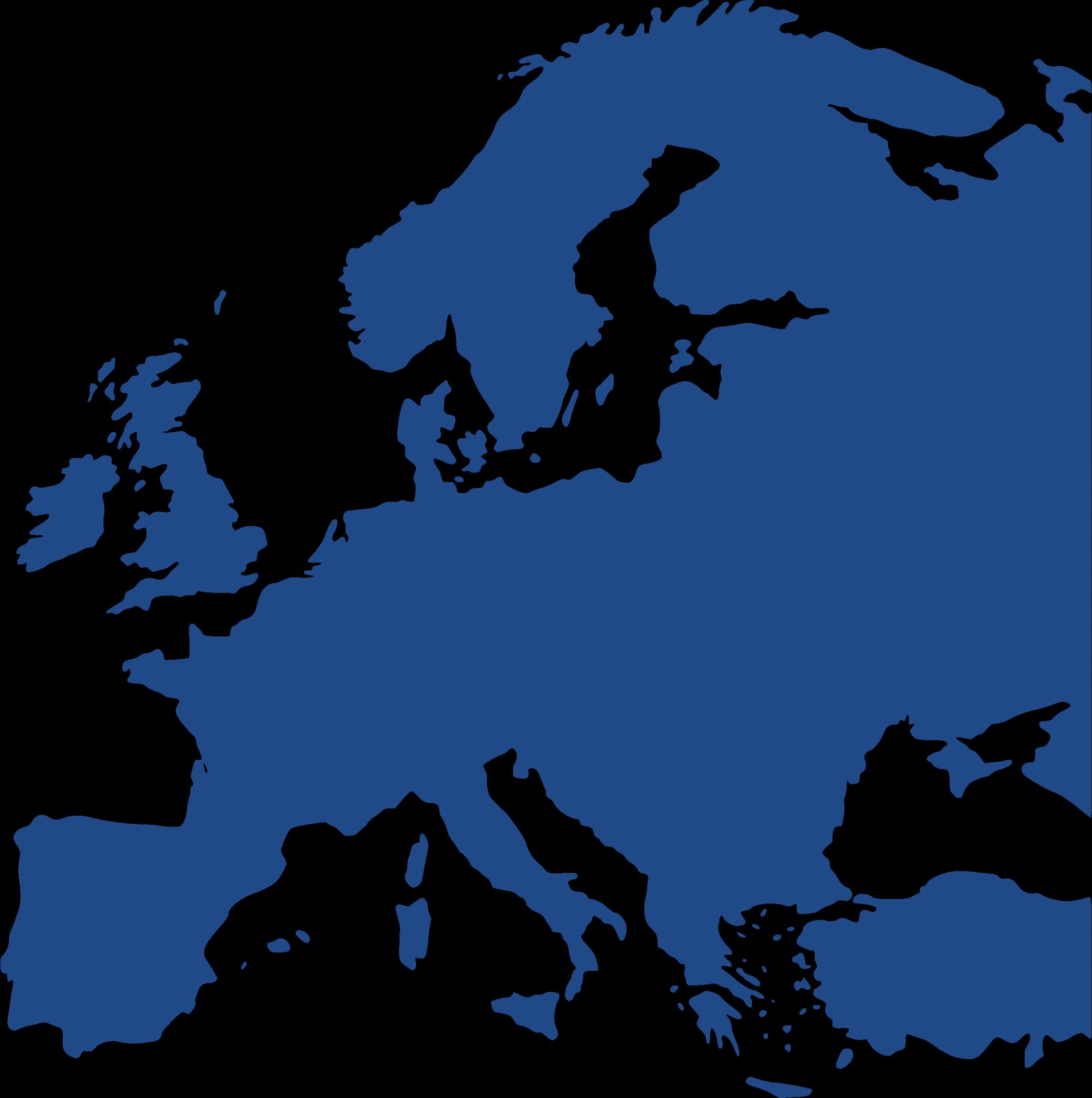 Map Of Europe Equidistant