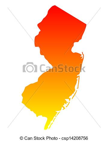 ... Map of New Jersey