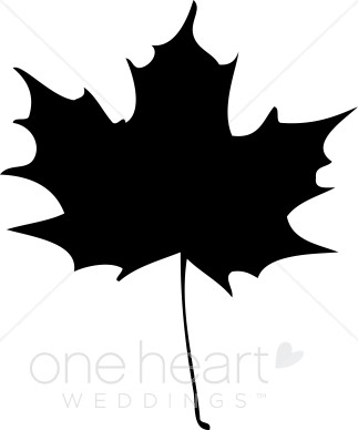 maple leaf clipart black and white-maple leaf clipart black and white-16