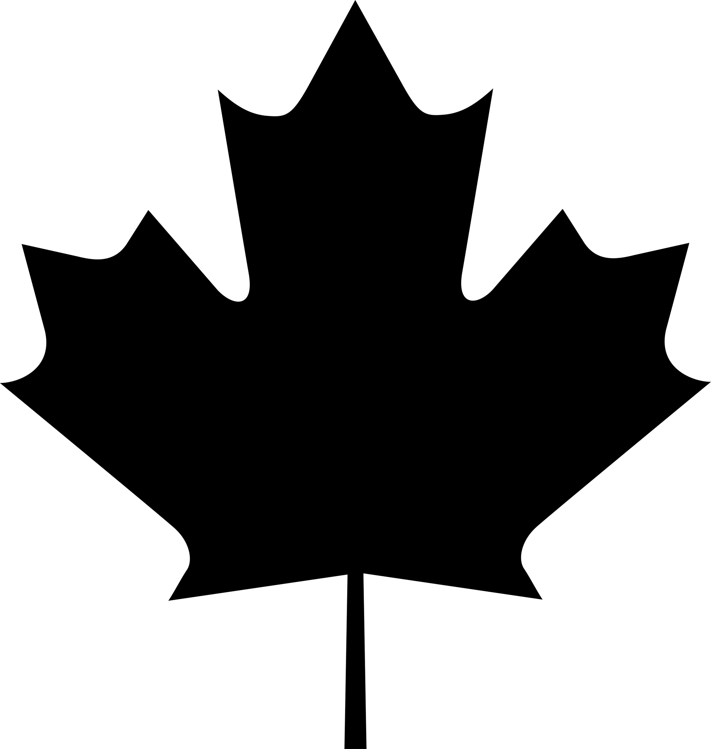 Maple Leaf Go Canada Clip Art-Maple Leaf Go Canada Clip Art-3