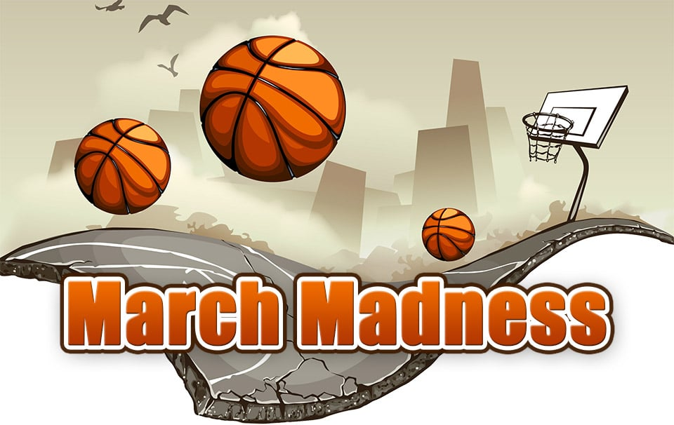 march madness: It s Basketbal