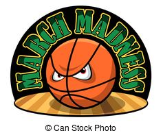 ... March Madness - Vector Illustration -... March Madness - Vector illustration of a March Madness logo.-18