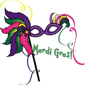 Mardi gras clip art borders . - Mardi Gras Clip Art Free