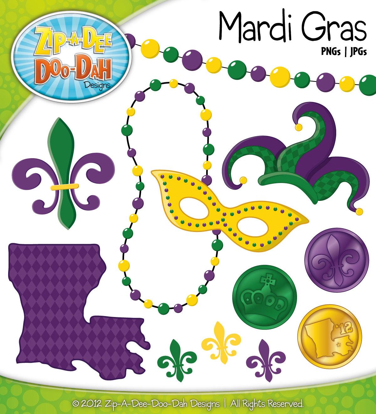 Mardi gras clip art school clip art