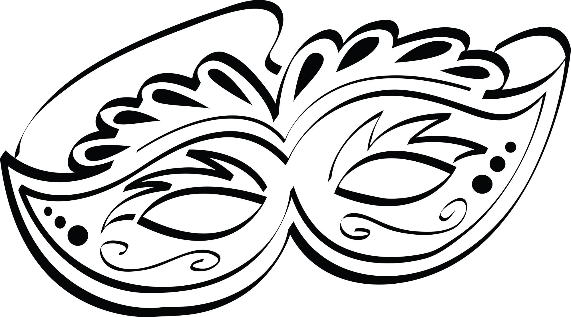 Mardi Gras Mask Carnival .-Mardi Gras Mask Carnival .-2