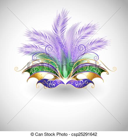 Mardi Gras mask - csp25291642