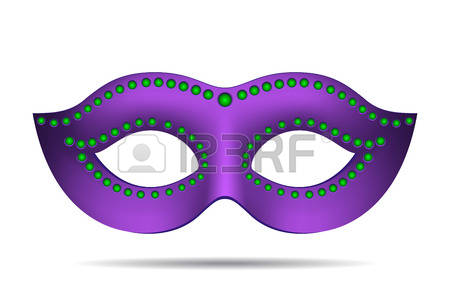 mardi gras mask: Mardi Gras mask isolated on white. Vector illustration Illustration