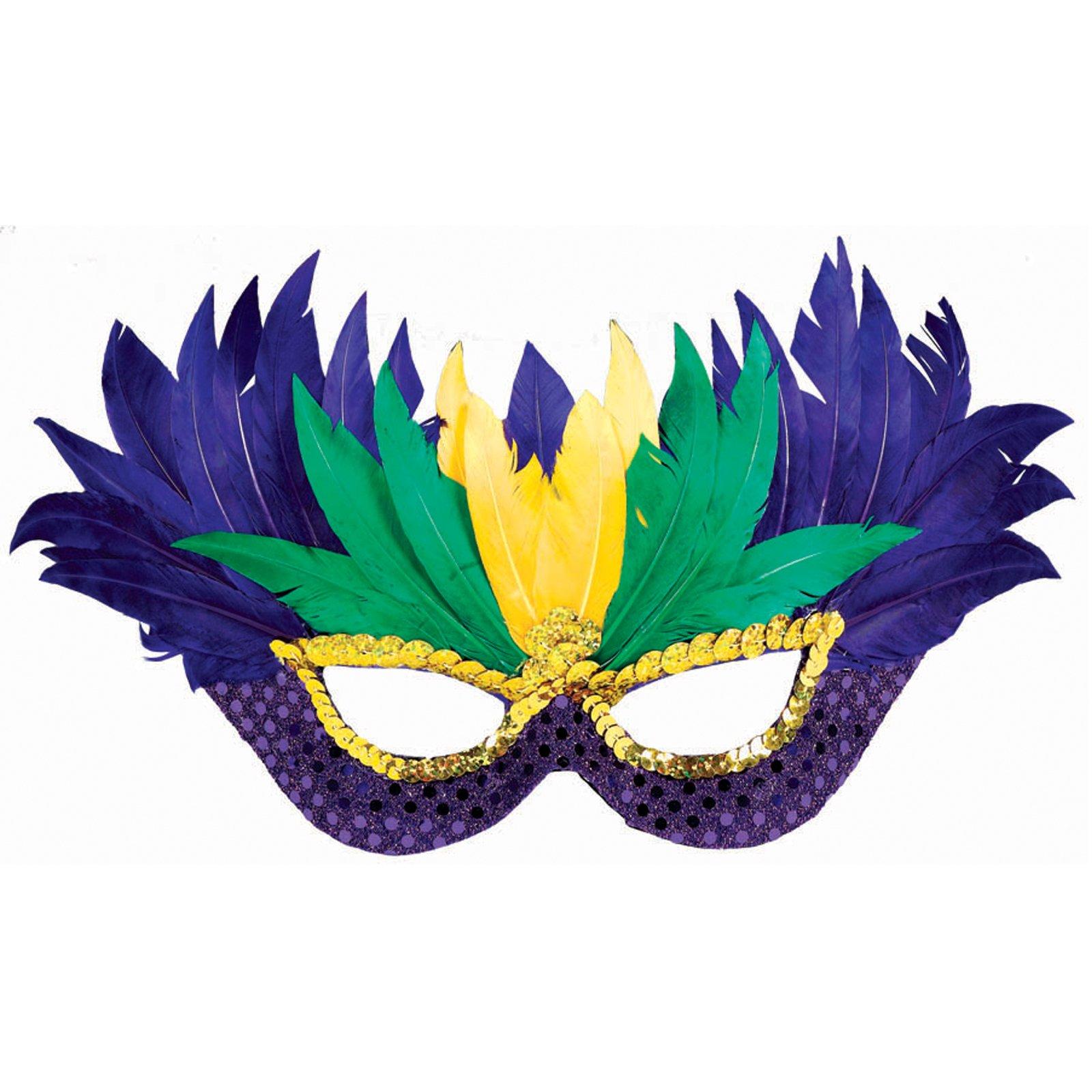 Mardi Gras Mask Stock Vector 71894632 Shutterstock - Clipart library