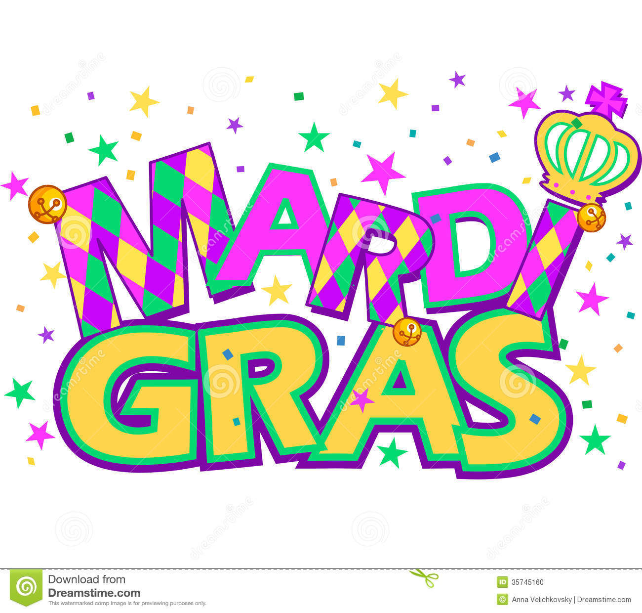 Mardi Gras Stock Photo