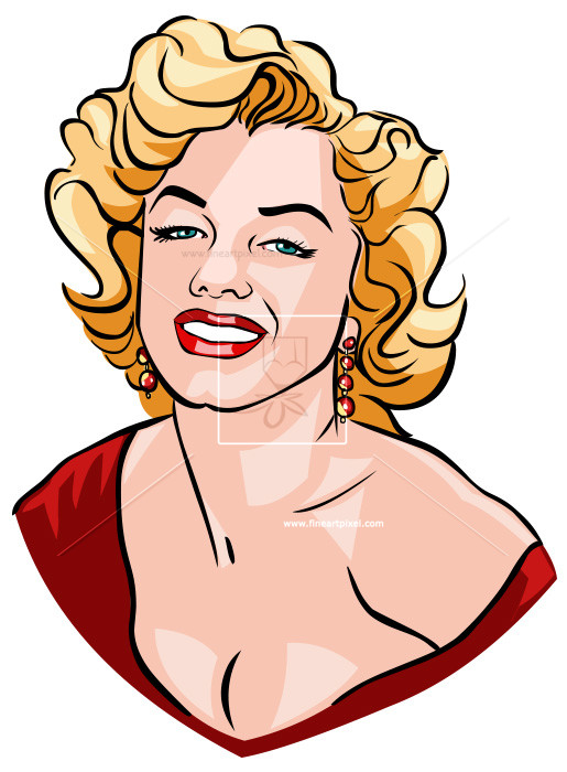 Marilyn Monroe | Free vectors, illustrat-Marilyn Monroe | Free vectors, illustrations, graphics, clipart, PNG  downloads | fineartpixel clipartlook.com-0