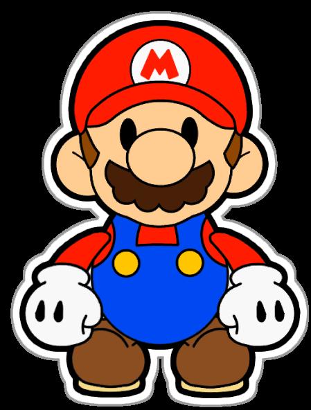 Mario Bros Clipart - Digital Clip Art Printable