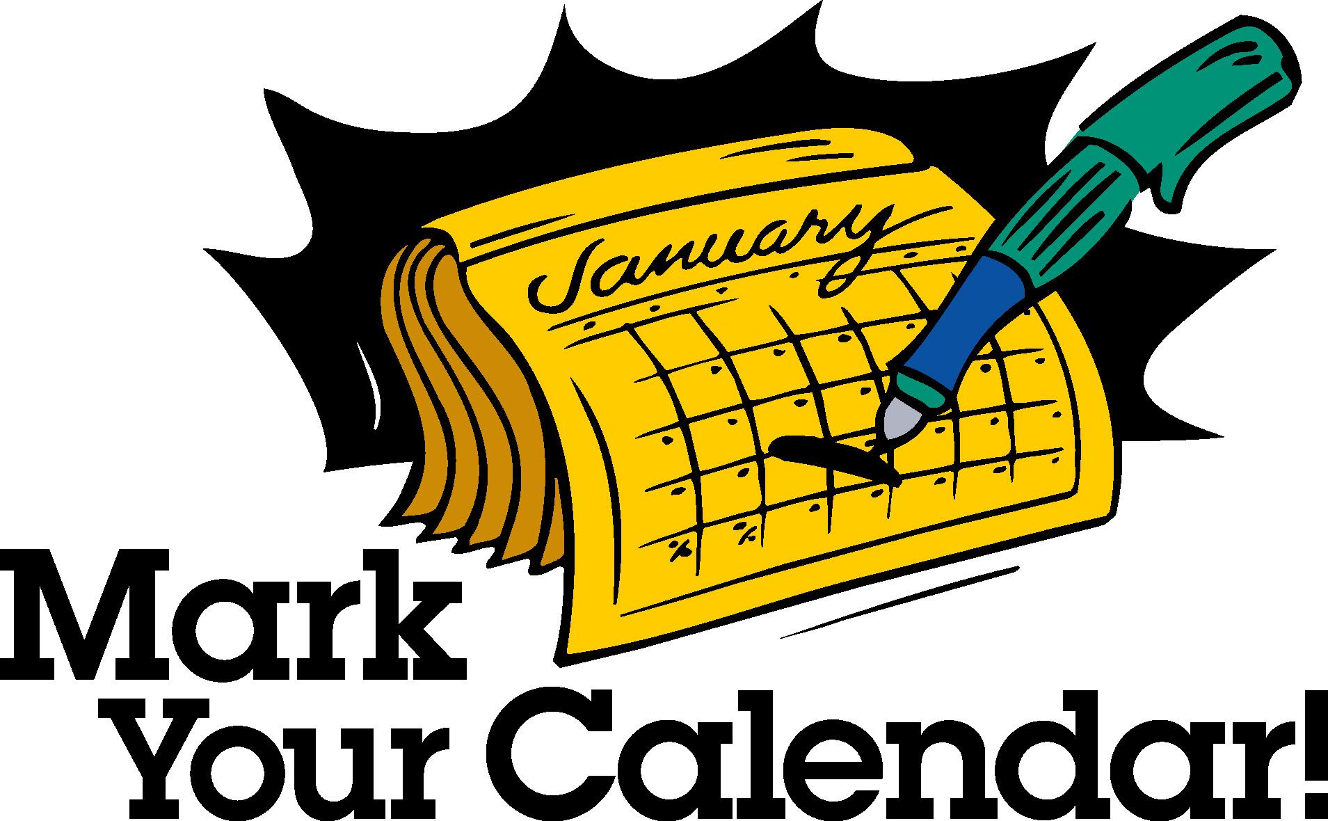 ... Mark Your Calendar Clip Art - Clipartion clipartall.com ...