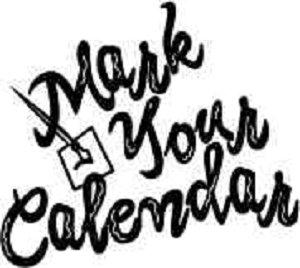 Mark your calendar clipart. mark-your-calendar