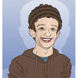 Mark Zuckerberg Portrait Caricature-Mark Zuckerberg Portrait Caricature-14