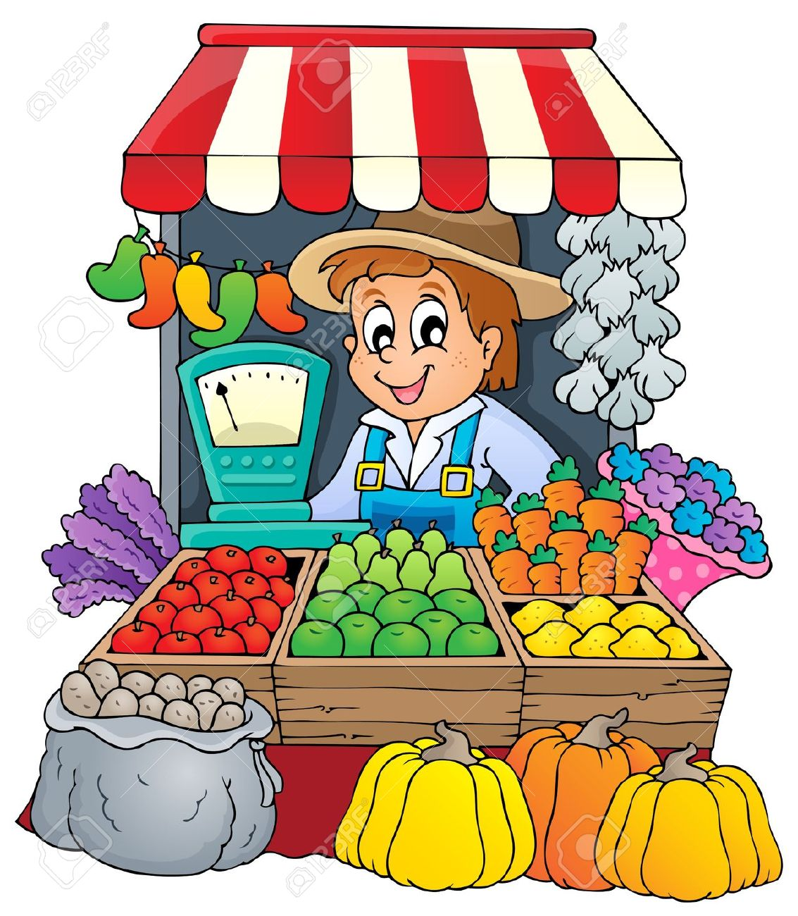 market clipart-market clipart-1
