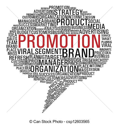 Marketing promotion speech bubble - csp12603565