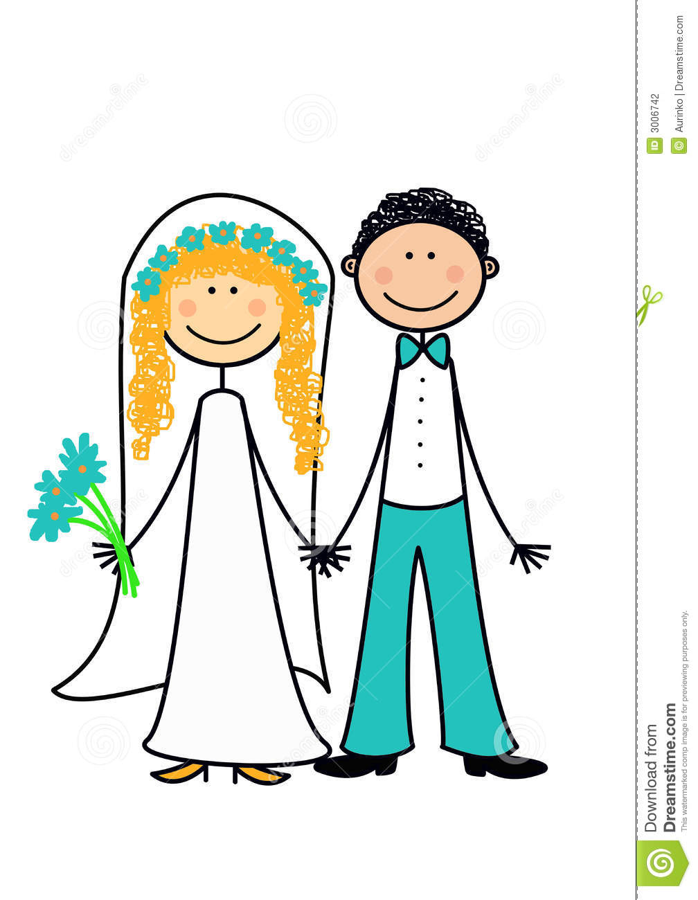 Married couple clipart - .