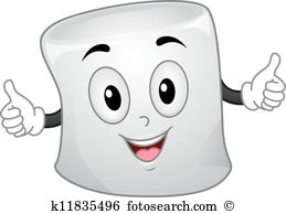 Marshmallow Mascot