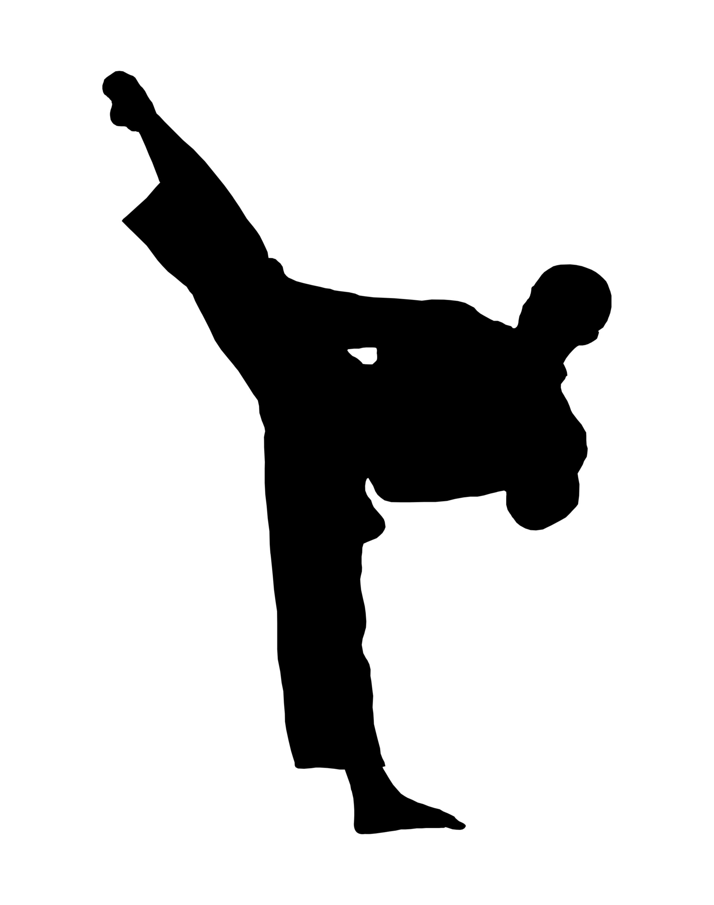 Martial Art Clip Art - Clipart library