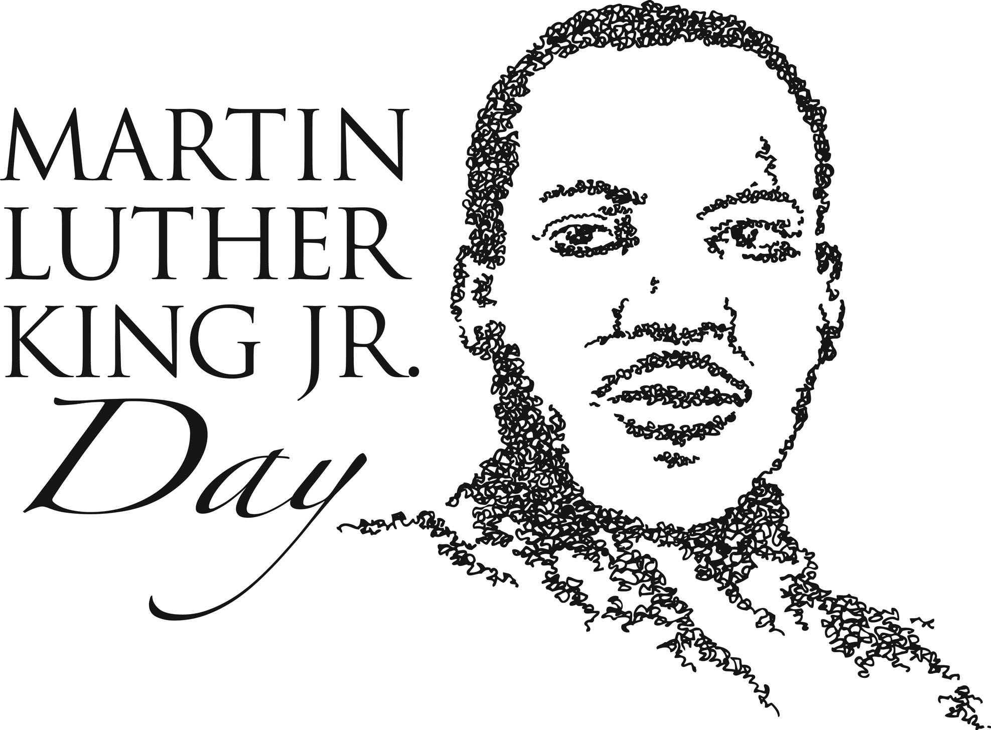 Martin Luther King, Jr. Day clipart-Martin Luther King, Jr. Day clipart-3