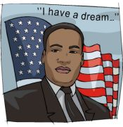 Martin Luther King, Jr. Day clipart-Martin Luther King, Jr. Day clipart-8