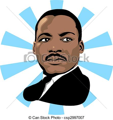 ... Martin Luther King 2 - Vector for Martin Luther King Day or.