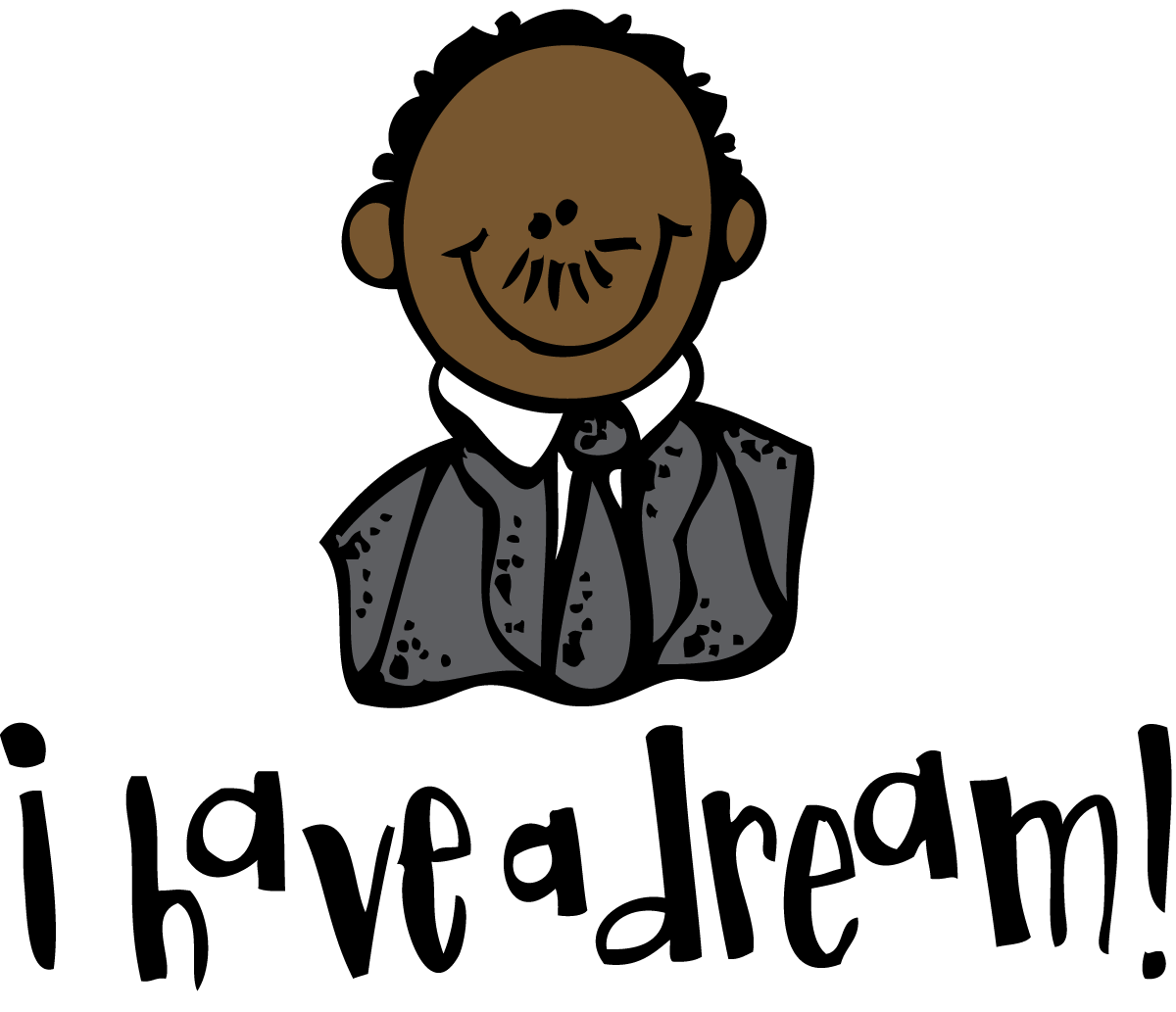 Martin Luther King Clip Art-Martin Luther King Clip Art-9