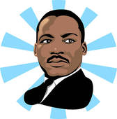 Martin luther king clip art - .