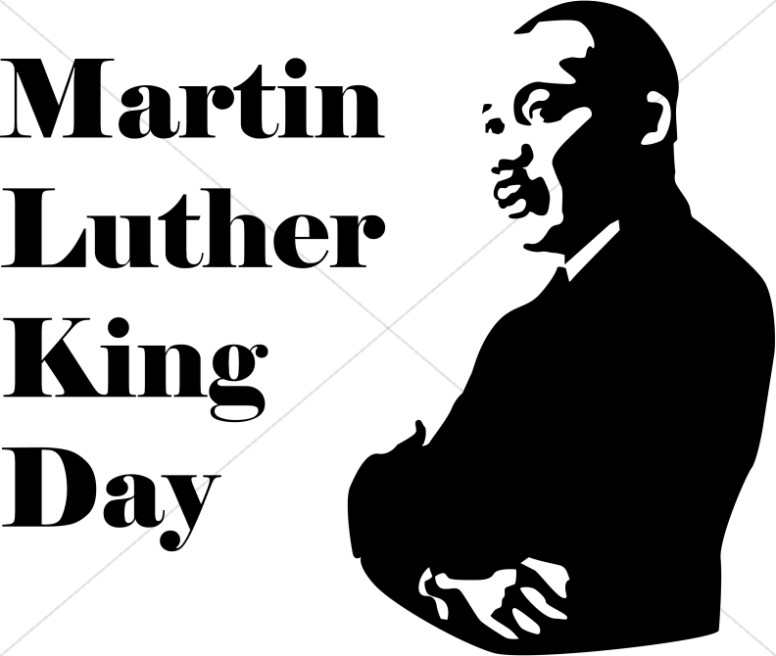 Martin Luther King Day with .