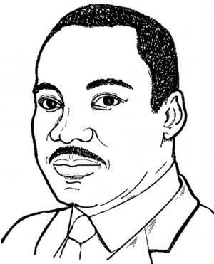 Martin Luther King Silhouette Free Clipa-Martin Luther King Silhouette Free Cliparts That You Can Download-17