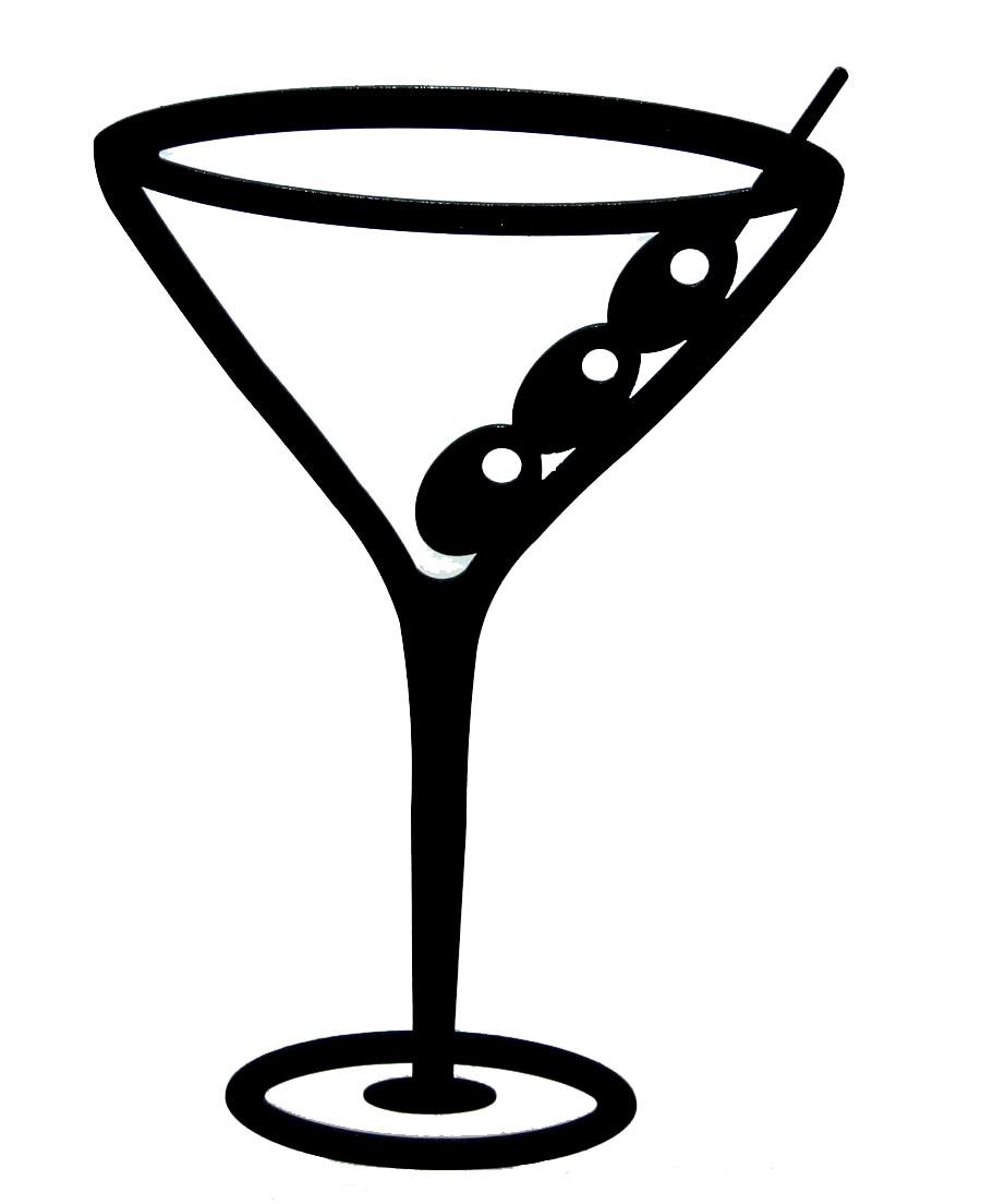 Martini Glass Clipart #1-Martini Glass Clipart #1-6