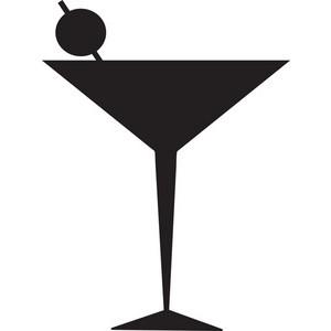 Martini glass cocktail glass clip art im-Martini glass cocktail glass clip art image-0