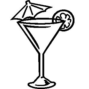 Martini glass martini clip ar - Margarita Glass Clip Art