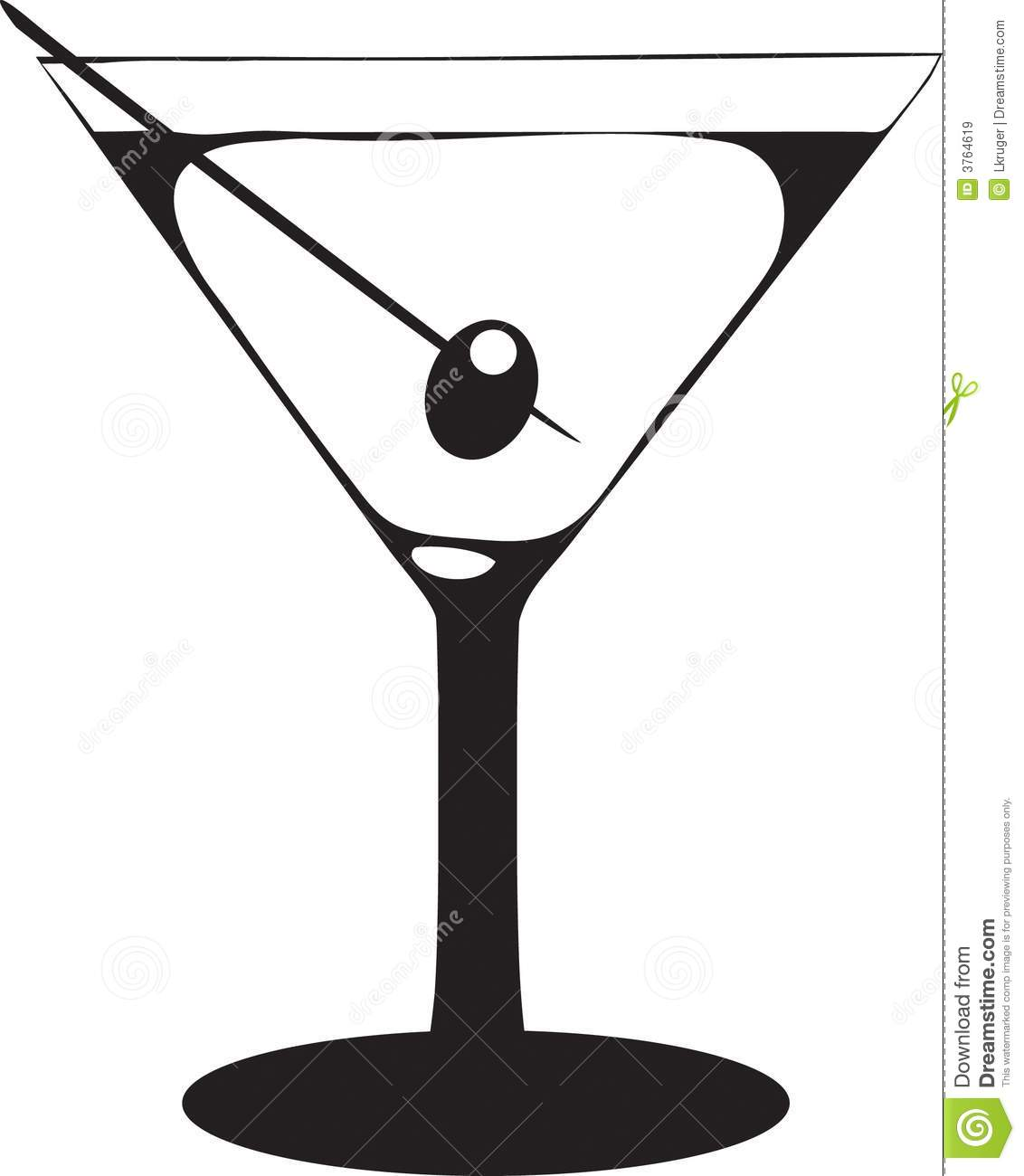 Martini Glass With Olive Royalty Free St-Martini Glass With Olive Royalty Free Stock Images Image 3764619-16
