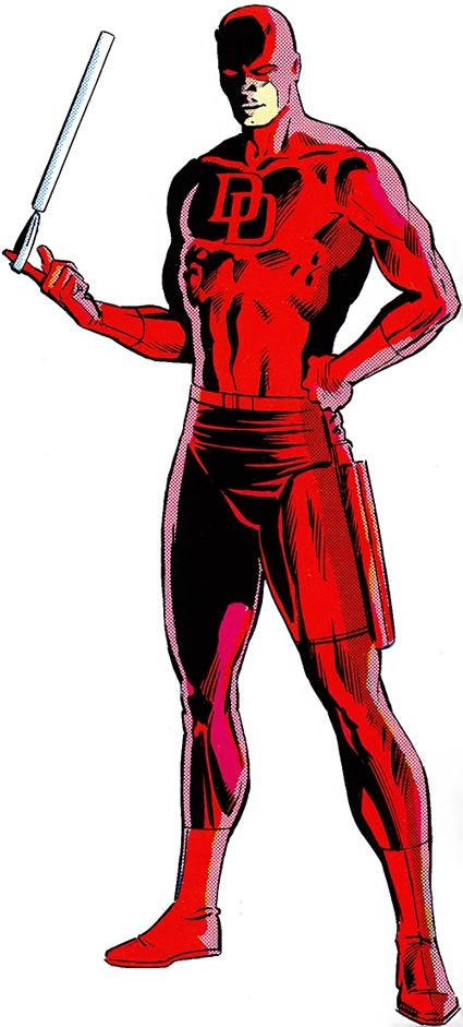 Daredevil - Marvel Comics - Matt Murdock - Hornhead