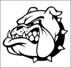mascot, Bulldog clipart .