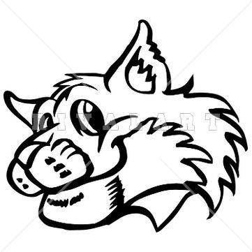 Bobcat Clip Art Look At Clip Art Images