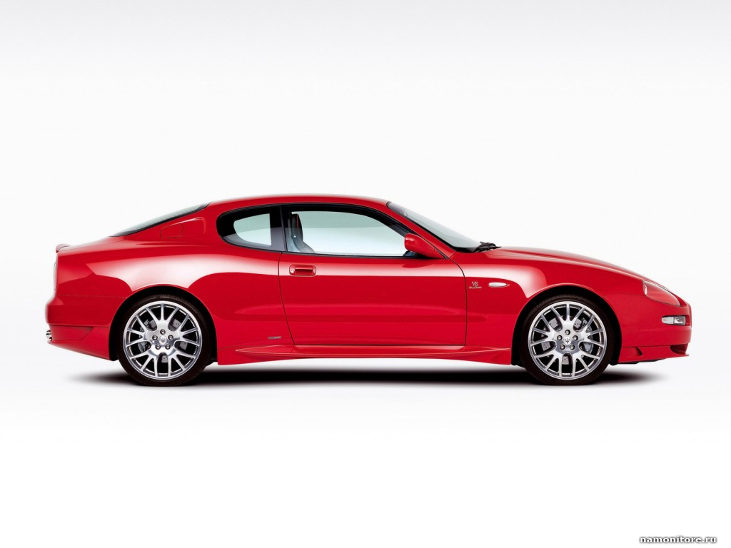 Maserati Gransport Contemporary 2007, cars, clipart, Maserati, red,  technics 1024x768