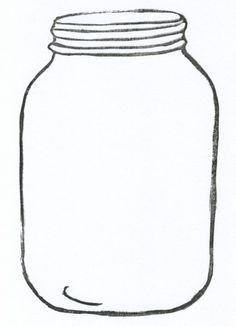 mason jar card template