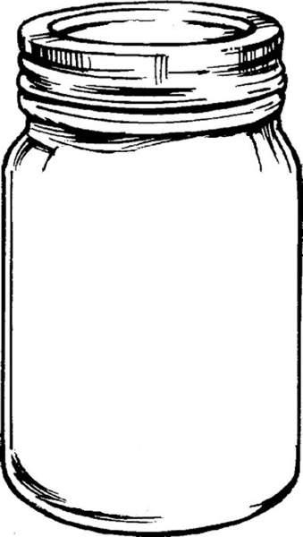 mason jar clip art. Free mason jar tempplates an .