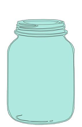 mason jar clipart for catching bee-havior board (from a teacher website, but