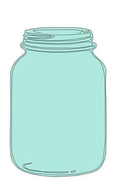 mason jar clipart for catching .